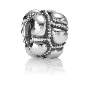 RETIRED Pandora Tracks Charm
